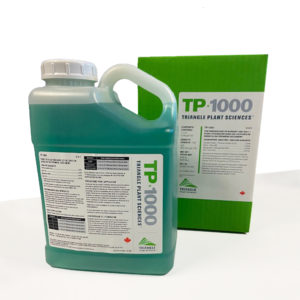 A 4L container of one of MustGrow's products — the TP 1000.